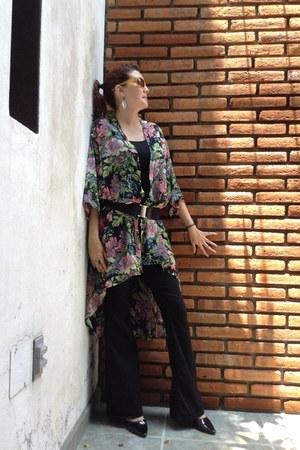 Old Navy jeans - Zara top - unknown brand cape