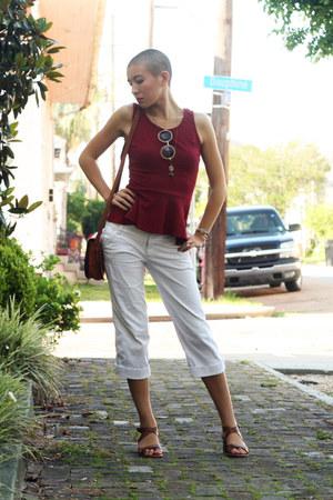 brown Zara sandals