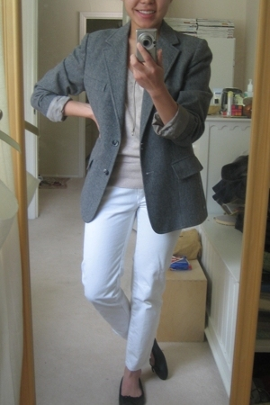 Evan Picone blazer - H&M sweater - 31 phillip lim jeans - Target shoes