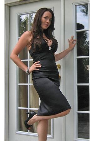 Charlotte Russe dress - Victorias Secret bra - Avon bracelet - Claires bracelet