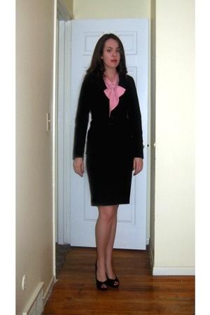 Judy Bond blouse - Forever21 blazer - Express skirt - Chinese Laundry shoes - Av