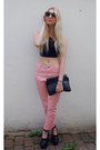 Missguided-jeans-other-stories-bag-choies-sunglasses-river-island-top