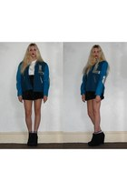 Kurt Geiger boots - Laura Alice Rogan jacket - Missguided t-shirt