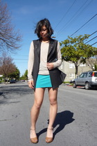 Alexander Wang vest - Imitation shirt - Topshop skirt - Fendi shoes