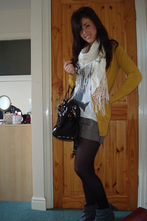 Primark jacket - asos scarf - Miss Selfridge accessories