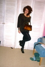 Vintage-sweater-dorothy-perkins-boots-vintage-purse