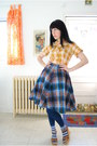 Worn-as-blouse-vintage-dress-navy-forever-21-leggings-calvin-klein-socks-c