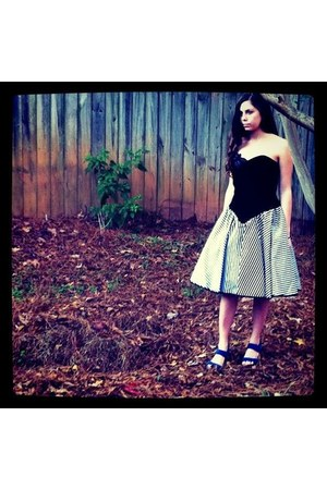 black Vintage Betsy and Adam dress