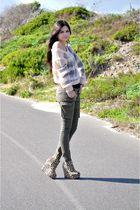 Industrie pants - Ebay shoes - bardot sweater