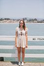 White-urban-outfitters-shoes-ivory-strawberry-thrifted-dress