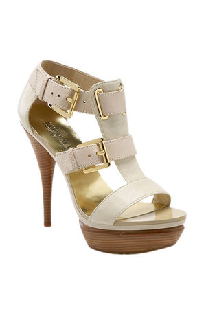 beige Michael Kors shoes