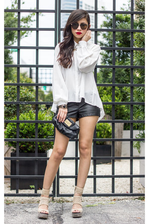 Style Stalker shirt - Marc by Marc Jacobs purse - pleather Forever 21 shorts