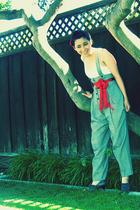 Target skirt - vintage pants - second hand belt - Eu Stars shoes