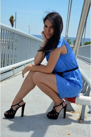blue Zara dress