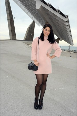 light pink Front Row Shop dress