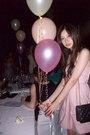 Pink-dress-black-chanel-purse-beige-shoes