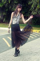 the Foz skirt - Forever 21 shoes - Forever 21 accessories
