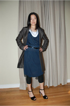 James Perse dress - M Premier jacket - Caslon t-shirt - kate spade shoes