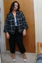 gift jacket - gift shirt - Suzy Shier belt - Divi - shoes - Divi necklace