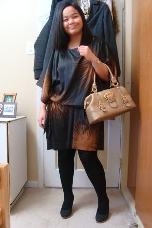 Vero Moda dress - Celine - Ardene tights - Celine tights