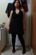 Sirens dress - Ardene tights - payless shoes - Divi earrings