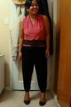 Divi top - Ardene belt - Divi pants - Celine shoes - Divi accessories