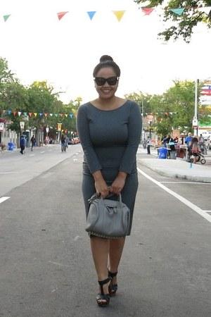 black Forever 21 sunglasses - dark gray Forever 21 dress