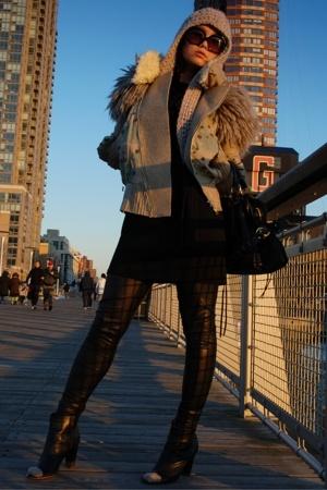 jacket - dress - leggings - shoes - accessories - H&M hat