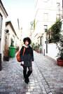 Black-primadonna-boots-dark-gray-zara-coat-tawny-tuscany-leather-bag