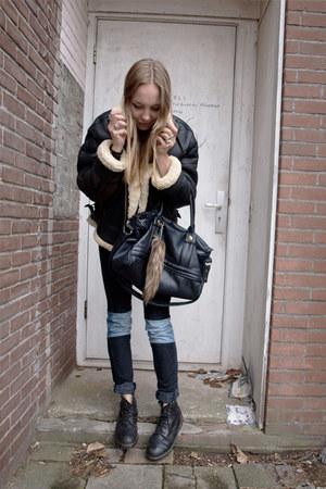 selfmade jeans - vintage jacket