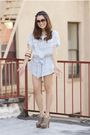 Blue-f21-shirt-beige-prada-shoes-blue-h-m