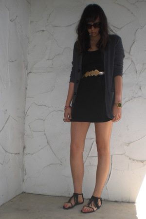 American Apparel jacket - American Apparel dress - Urban Outfitters shoes - vint