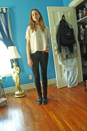 blouse - H&amp;M pants - Stanley Blacker shoes