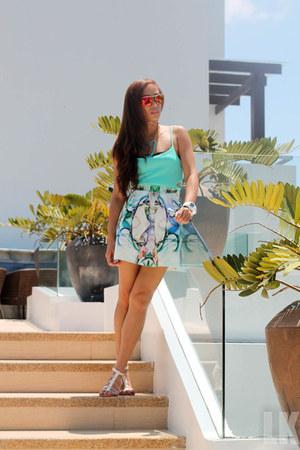 aquamarine Ever New skirt