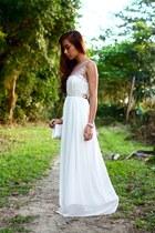white maxi Style Staple dress