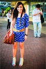 Blue-zara-dress-white-bought-online-shoes-brown-purse-brown-bought-from-a-