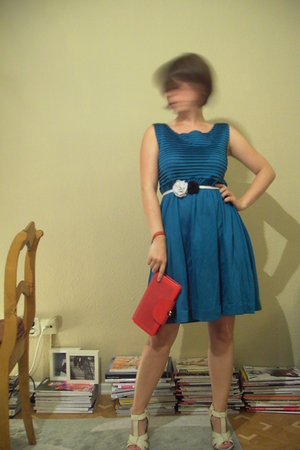 COS dress - H&M shoes - Jack &Jones purse