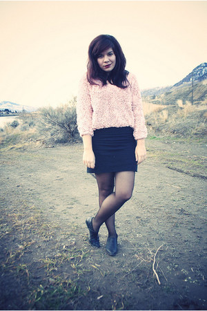 American Apparel sweater - American Apparel skirt - American Apparel tights - th