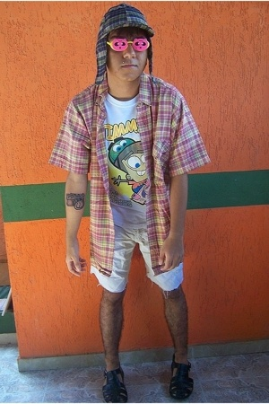 Sonata hat - La Factoria sunglasses - My Dad Shirt shirt - Padrinos Magicos xD s