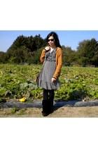 Vero Moda cardigan - Minnetonka shoes - H&M dress