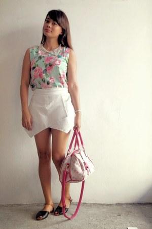 aquamarine crop top Pretty Guide blouse