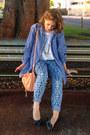 Blue-chambray-mens-the-hundreds-shirt-light-pink-see-by-chloé-bag