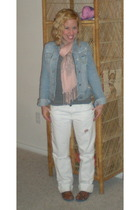 American Apparel t-shirt - hollister jacket - Gap jeans - Light Years scarf - TO