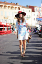 hat sessun accessories - Tsumori Chisato  Petit bateau dress - Melissa sandals