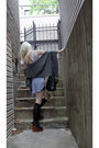 Gray-freeloader-top-black-akira-skirt-black-shoe-dazzle-bag-gray-from-denm