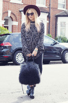 furry River Island bag