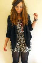 keep or return: H&M Leopard Playsuit