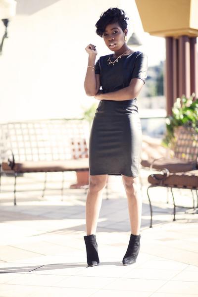leather dress Lulus dress