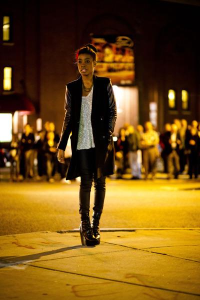 H&M jacket - Aldo shoes