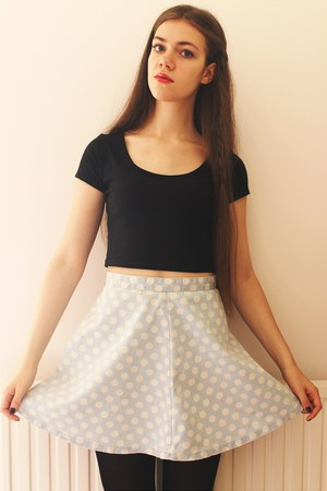 Topshop skirt - new look top